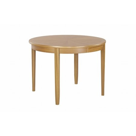 Nathan - Shades Oak Circular Dining Table on Legs