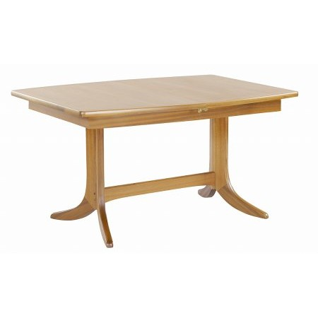 Nathan - Shades Oak Small Pedestal Dining Table