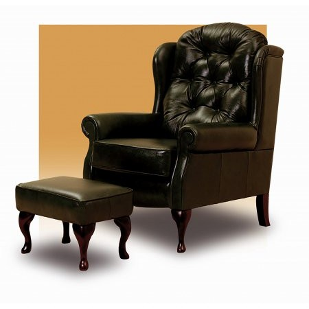 Sturtons - Grace Leather Fireside Chair