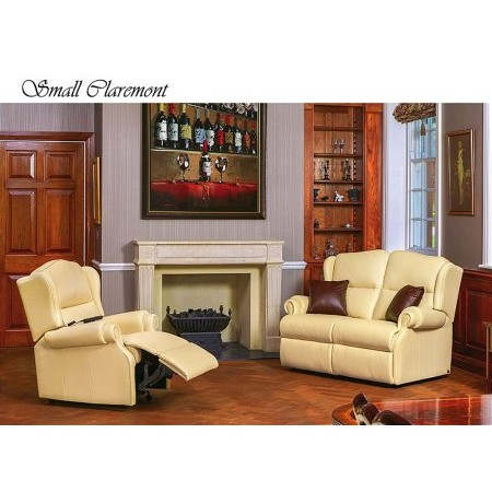 Sherborne - Claremont 2 Seater Leather Sofa and Chair