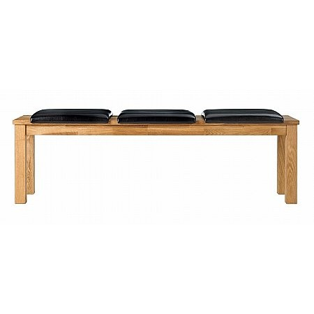 Sturtons - Royal Oak Bench with Seat Pads