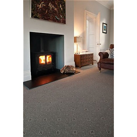 Ulster Carpets - Tazmin Shadow Motif Carpet
