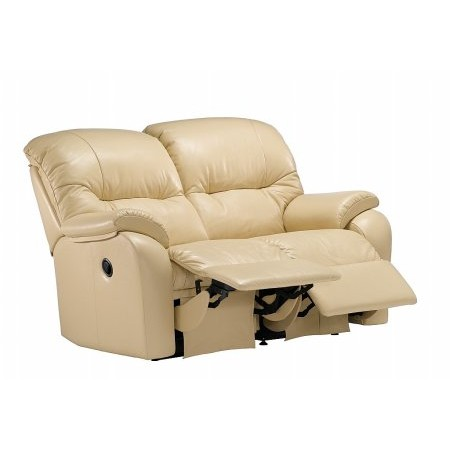 G Plan Upholstery - Mistral 2 Seater Leather Reclining Sofa