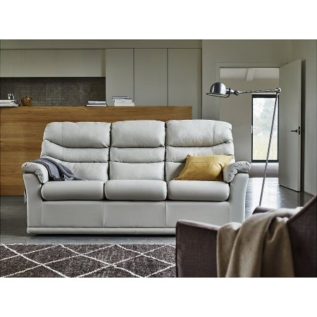 G Plan Upholstery - Malvern 3 Seater Leather Sofa
