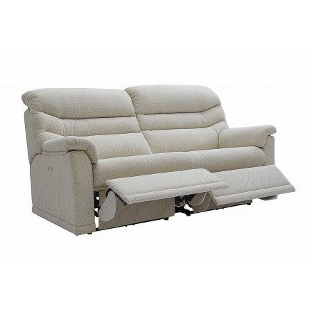 G Plan Upholstery - Malvern 3 Seater 2 Cushion Recliner Sofa
