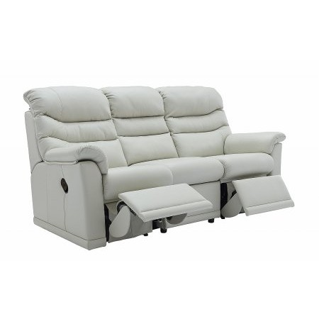 G Plan Upholstery - Malvern 3 Seater Leather Reclining Sofa