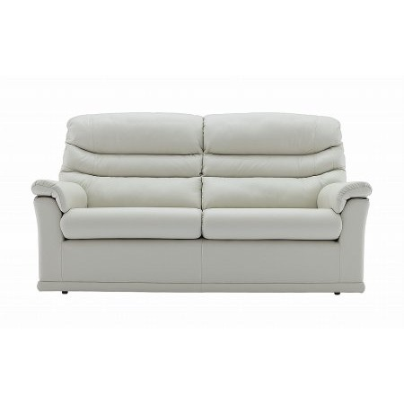 G Plan Upholstery - Malvern 3 Seater 2 Cushion Leather Sofa