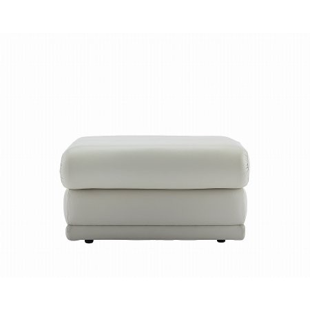 G Plan Upholstery - Malvern Leather Storage Footstool
