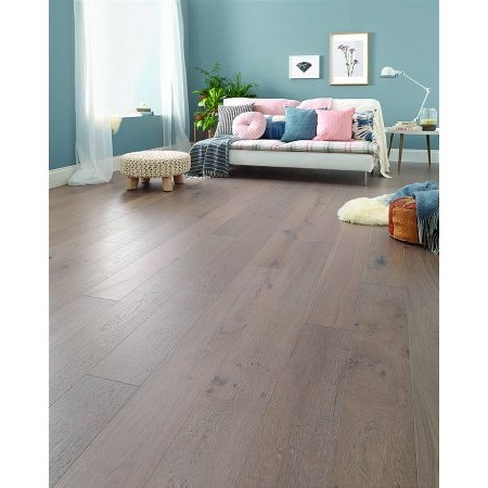 Flooring One - Salcombe Moonbeam Oak Wood Flooring