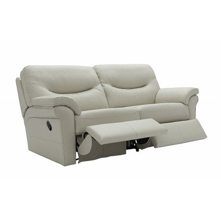 G Plan Upholstery - Washington 3 Seater Leather Recliner Sofa