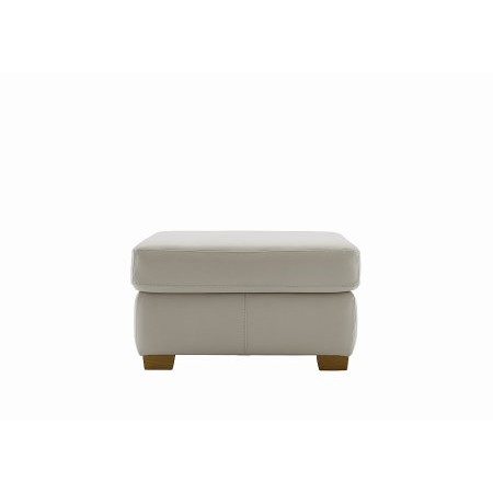 G Plan Upholstery - Washington Leather Footstool