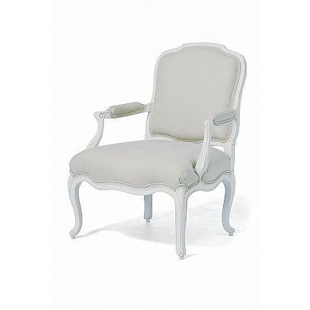 Willis And Gambier - Ivory Armchair