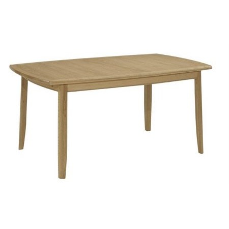 Nathan - Shades Oak Extending Boat Shaped Dining Table