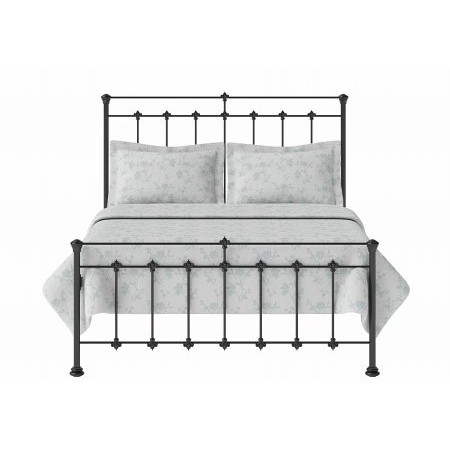 Original Bedstead - Edwardian Low Footend Bedstead in Satin Black