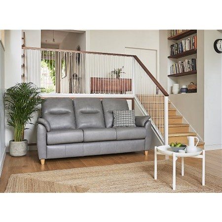 G Plan Upholstery - Spencer 3 Seater Leather Sofa