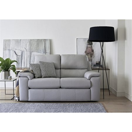 G Plan Upholstery - Taylor 2 Seater Leather Sofa