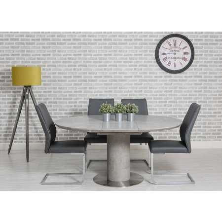 Sturtons - Harper Round Extending Dining Table and Chairs