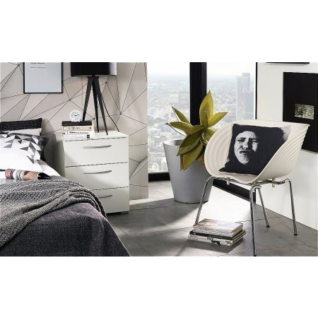 Rauch - Aldono 3 Drawer Bedside Table