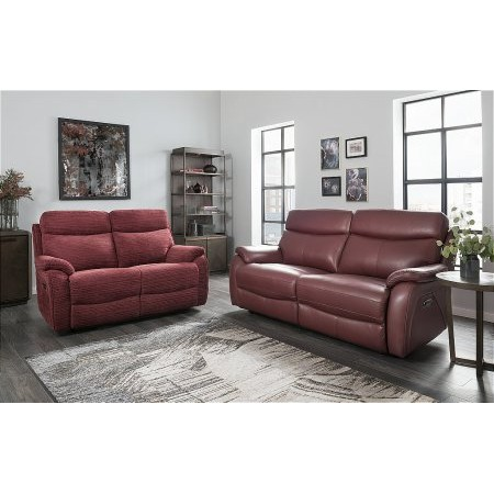 Lazboy - Kendra 3 Seater Leather Sofa