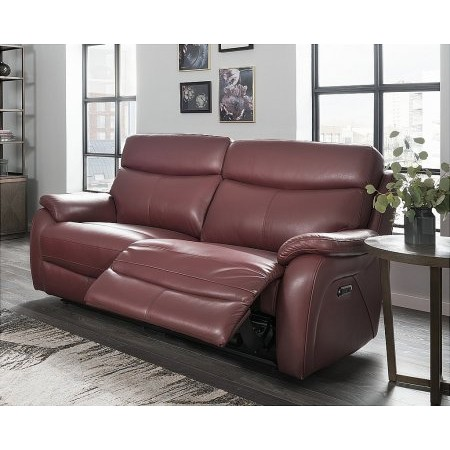 Lazboy - Kendra 3 Seater Leather Recliner Sofa