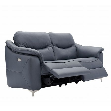G Plan Upholstery - Jackson 2 Seater Leather Recliner Sofa