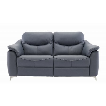 G Plan Upholstery - Jackson 3 Seater Leather Sofa