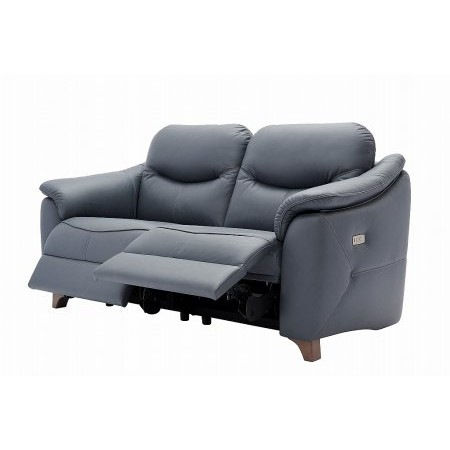 G Plan Upholstery - Jackson 3 Seater Leather Recliner Sofa