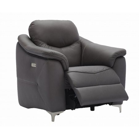 G Plan Upholstery - Jackson Leather Recliner Chair