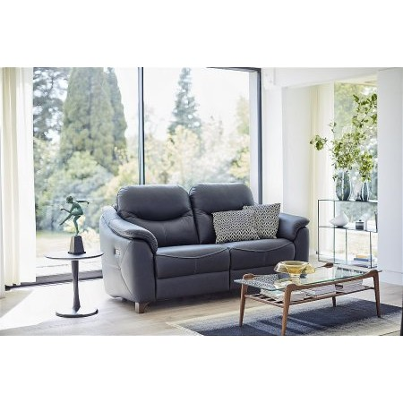 G Plan Upholstery - Jackson 2 Seater Leather Sofa