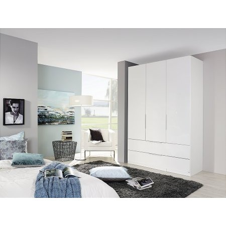 Rauch - Zenaya 3 Door 2 Drawer Wardrobe