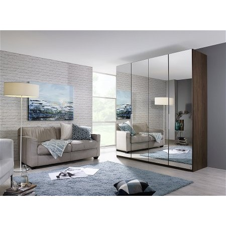 Rauch - Zenaya 4 Door Mirrored Wardrobe