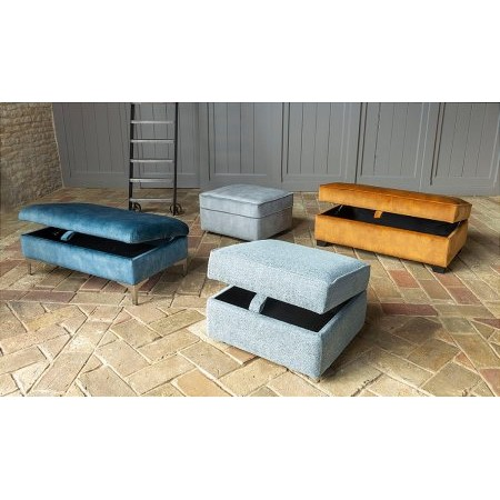 Alstons Upholstery - Cosy Collection Footstools Ottomans