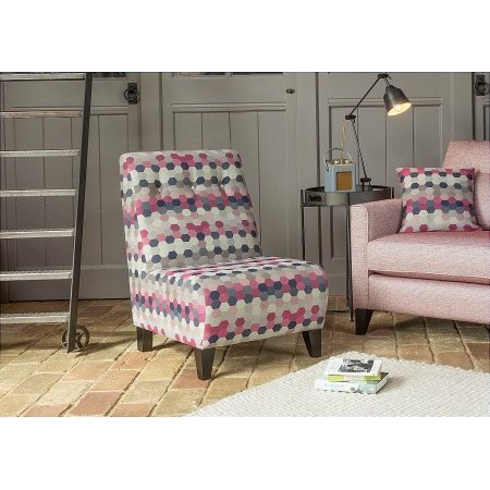 Alstons Upholstery - Lexi Armless Accent Chair