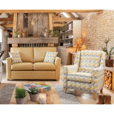 Alstons Upholstery - Reuben 2 Seater Sofa