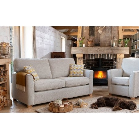 Alstons Upholstery - Reuben 3 Seater Sofa