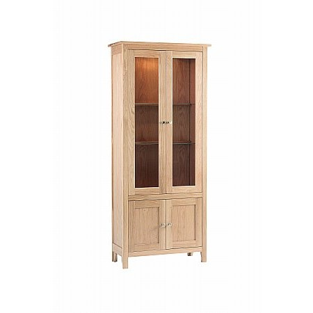 Corndell - Nimbus Glazed Display Cabinet