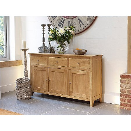Corndell - Nimbus 3 Drawer 3 Door Sideboard