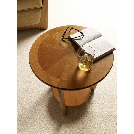 Nathan - Shades Teak Lamp Table