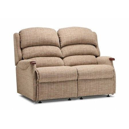 Sherborne - Malham Standard Fabric Fixed 2 Seater Settee