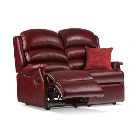 Sherborne - Malham Standard Leather Reclining 2 Seater Settee