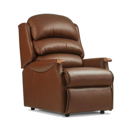 Sherborne - Malham Standard Leather Fixed Chair
