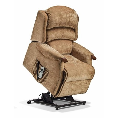 Sherborne - Malham Small Fabric Electric Riser Recliner