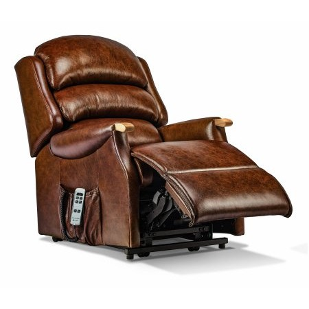 Sherborne - Malham Small Leather Electric Riser Recliner