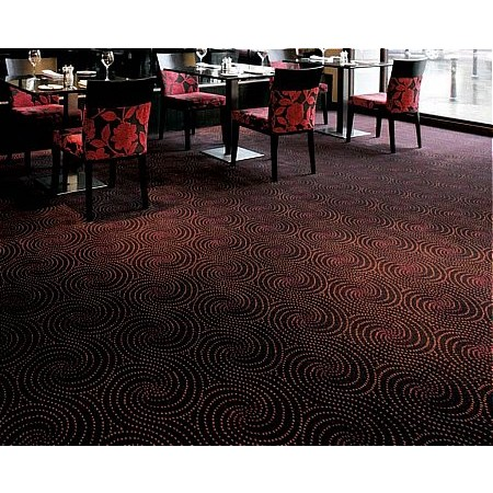 Ulster Carpets - the mix Swirl Berry