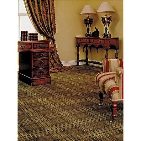 Ulster Carpets - Country House Collection Beaumont Carpet Antique Green
