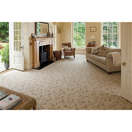 Ulster Carpets - Natural Choice Axminster Carpet Tapestry Natural