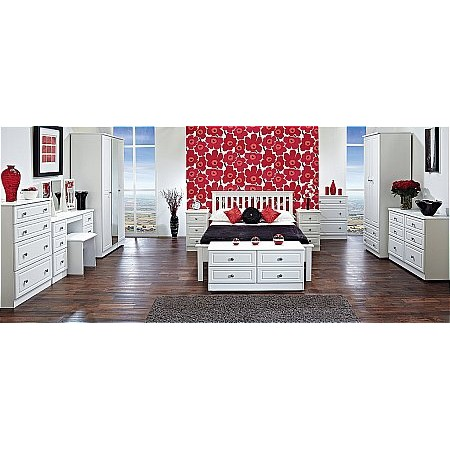 Sturtons - Solent Bedroom White