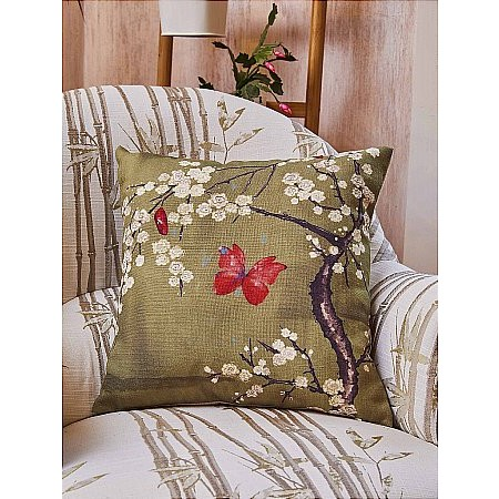 Angel Strawbridge - Blossom and Butterfly Collection Cushion