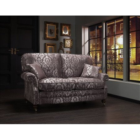 Vale Bridgecraft - Lewis Sofa in Mauve Black