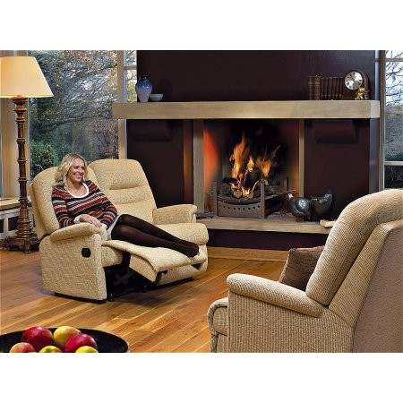 Sherborne - Keswick Small Manual Powered Reclining 2 Seater Settee